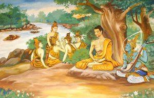 Asketický Gautama zdroj: Wikimedia commons