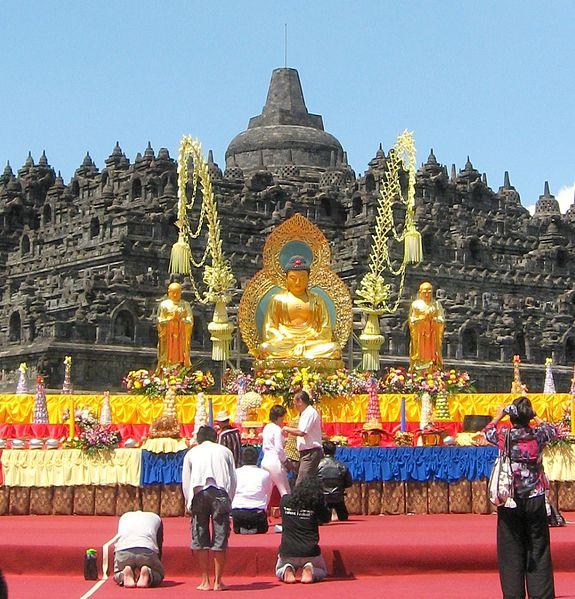 Svátek Vesak zdroj: Wikimedia commons