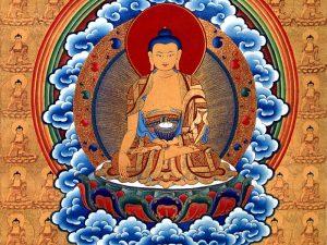 Buddha Šákjamuni zdroj: Wikimedia commons