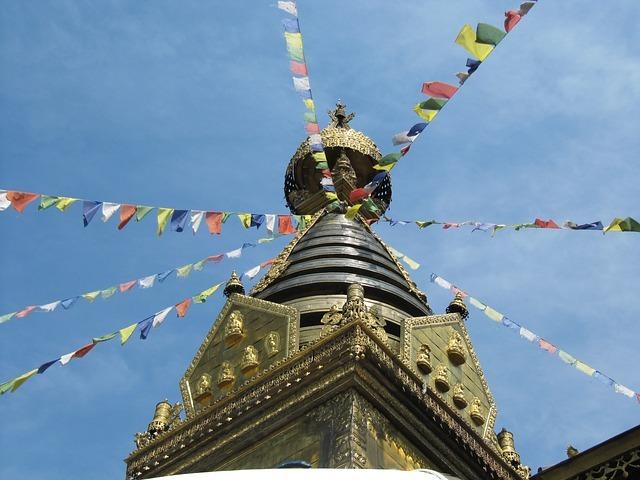 Buddhistická stúpa zdroj: Pixabay.com