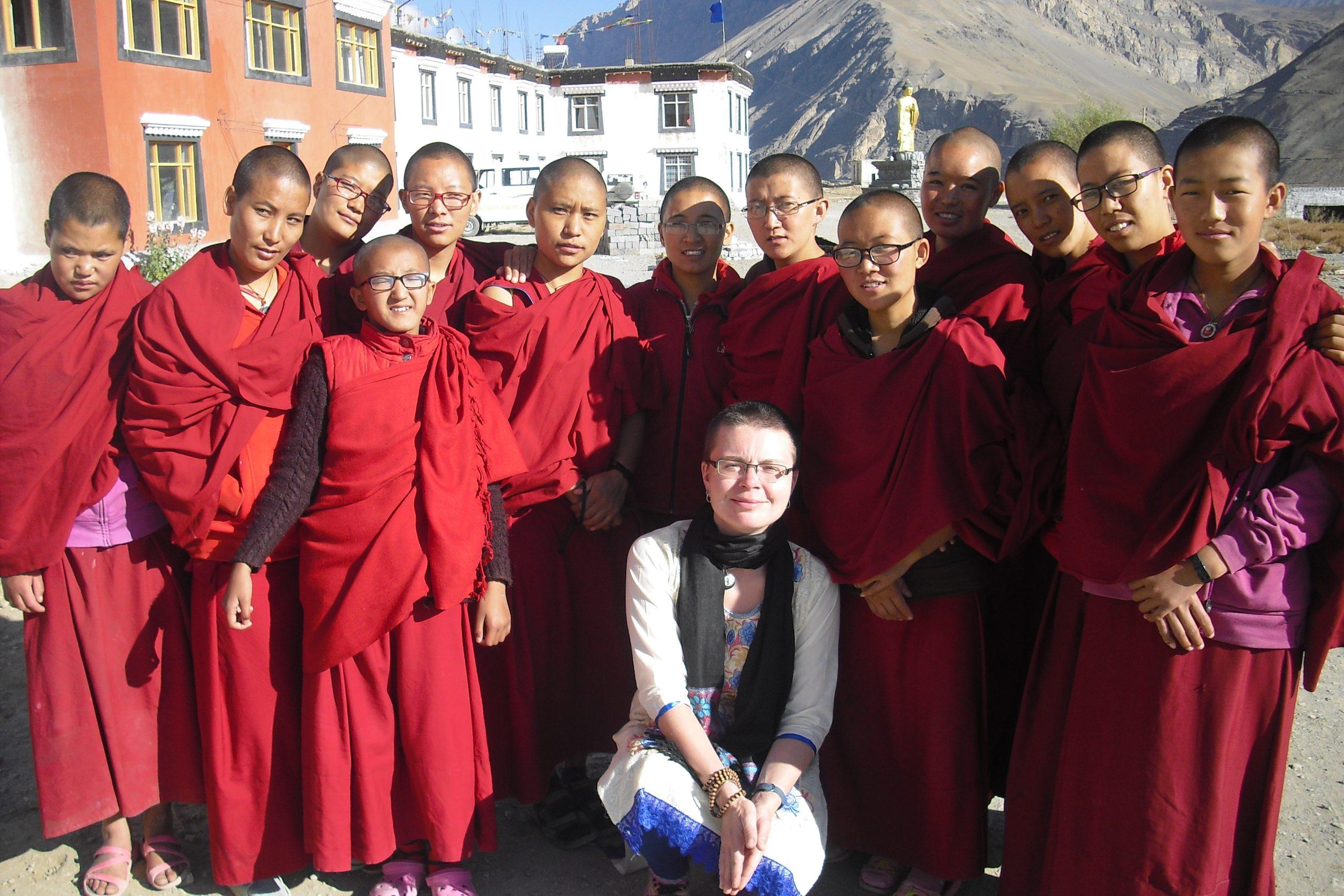 Alena Aichlmanová: O půl roce života v tibetských klášterech