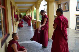 Debata mnišek v klášteru Kopan - zdroj Tenzin Palmo