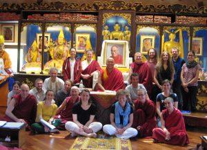 Kurz s Geshe - zdroj Tenzin Palmo