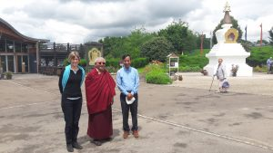 Khenpo Mriti a Jigme Rinpoche zdroj: Khenpo Mriti
