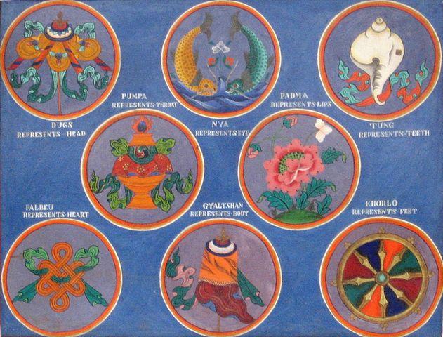 Osm šťastných symbolů