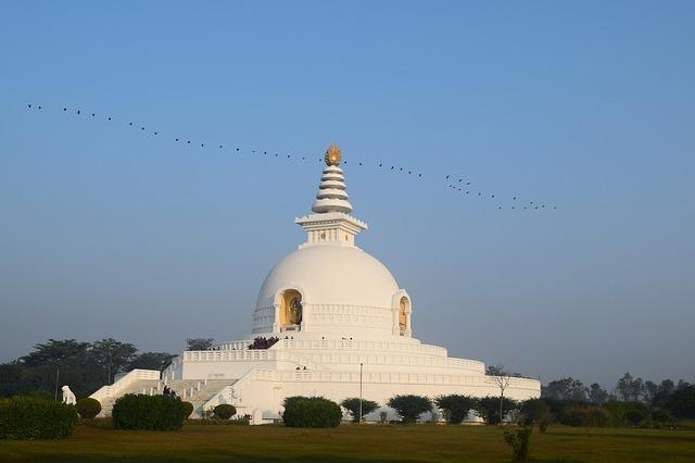 Buddhistické turistické destinace