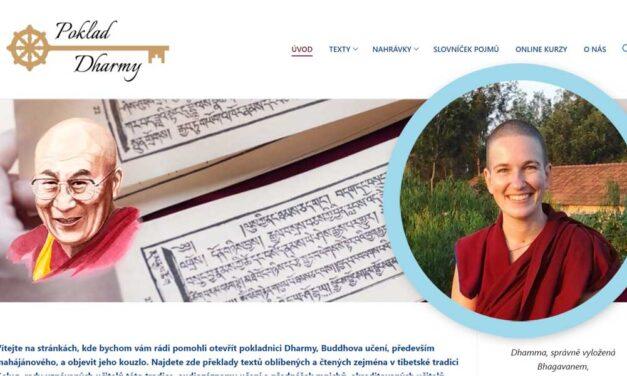 Poklad dharmy – studijní web tibetského buddhismu